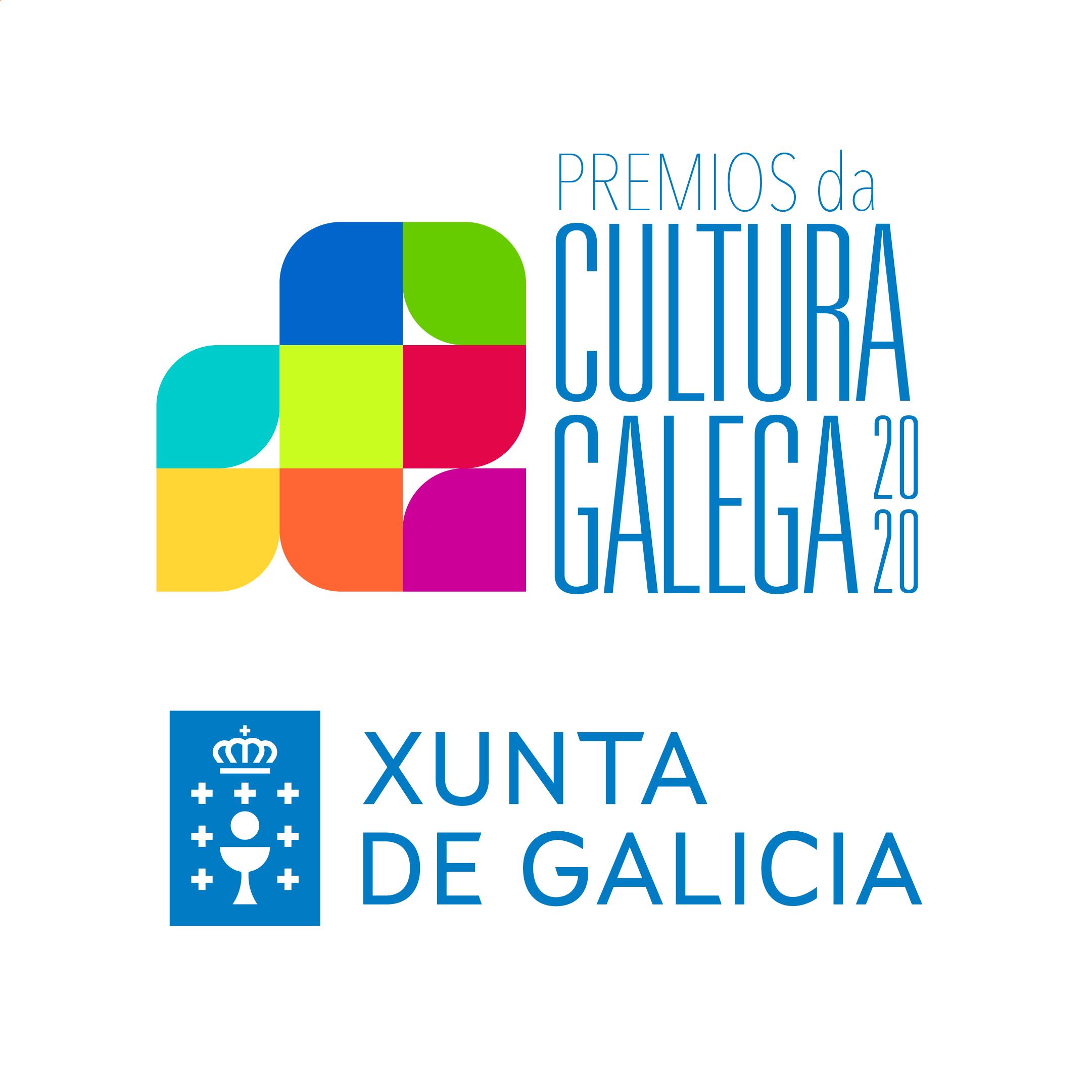Logotipo Premios da Cultura Galega 2020