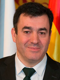 Román Rodríguez, conselleiro de Cultura, Educación y Ordenación Univeresitaria