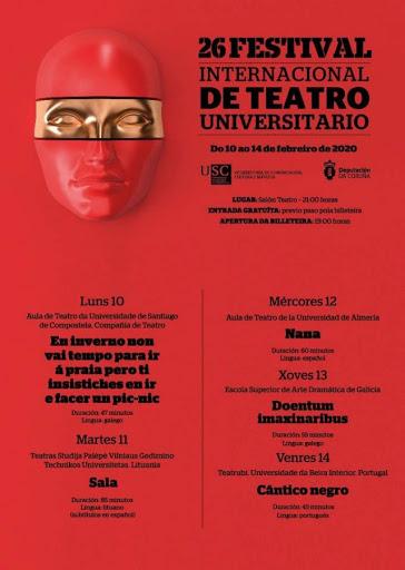 26ª Festival Internacional de Teatro Universitario USC