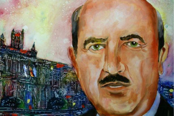 Retrato de Antonio Fraguas