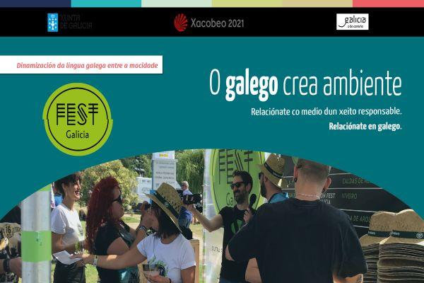 Actividade O galego crea ambiente