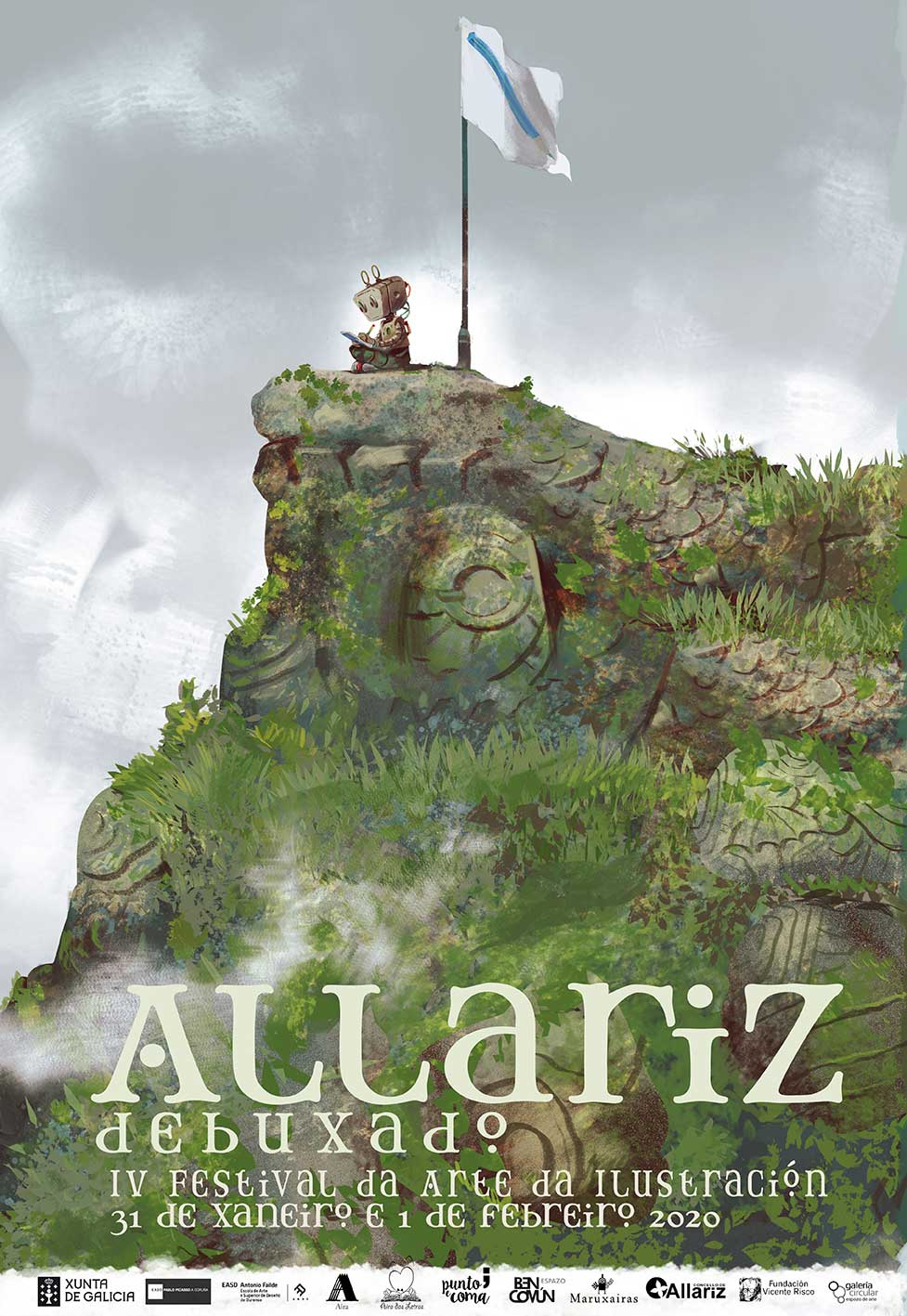 Cartaz IV ALLARIZ DEBUXADO