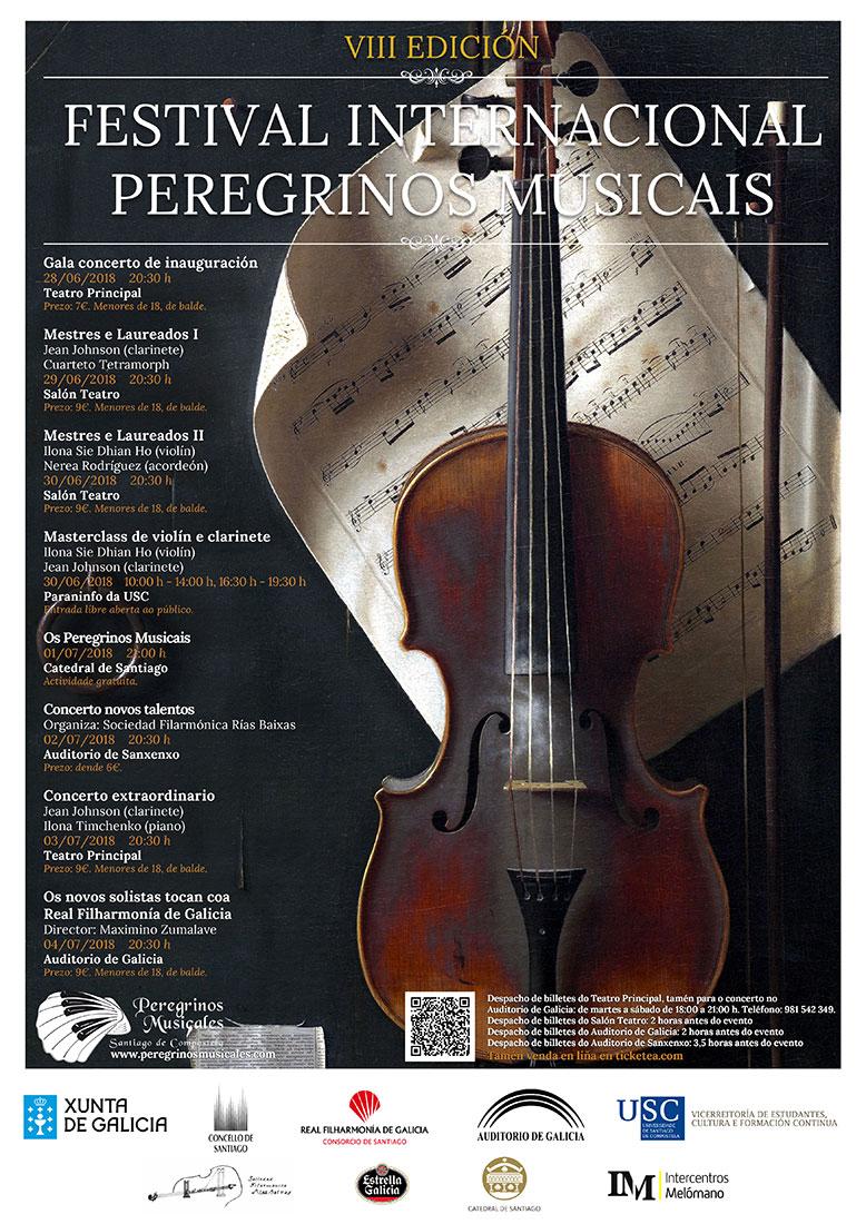 VIII Festival Internacional Peregrinos Musicais