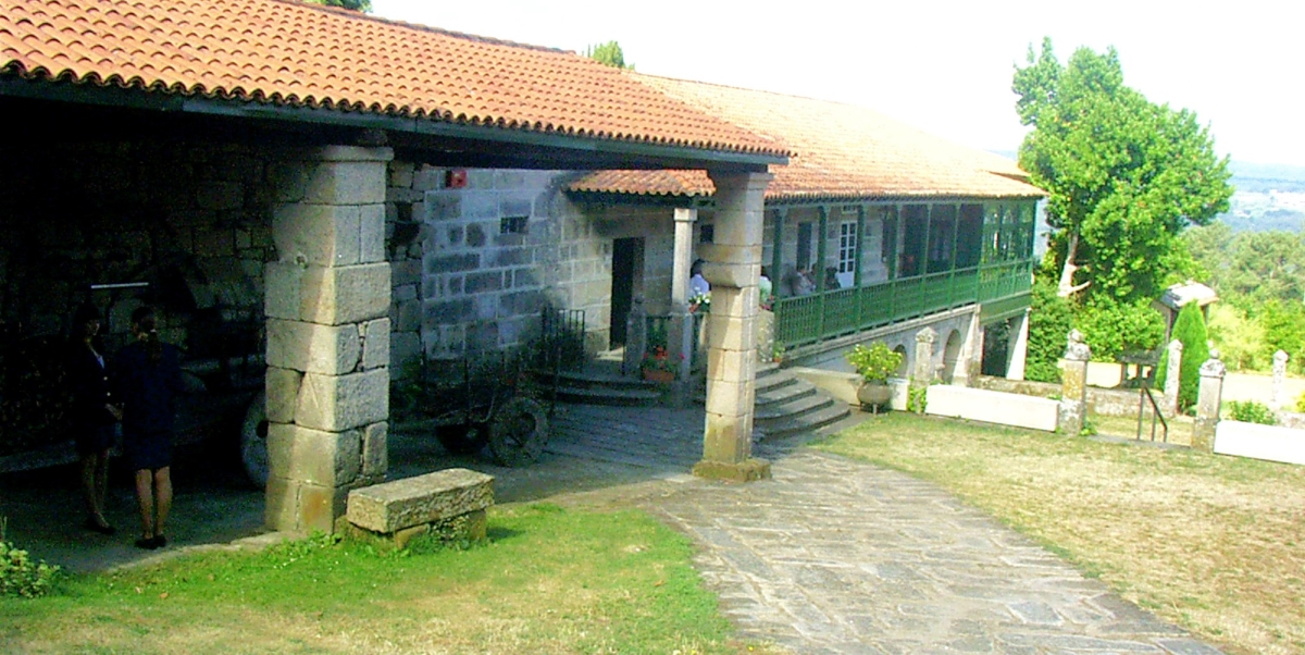 Casa Grande de Cimadevila | Imaxe: Fundación Otero Pedrayo