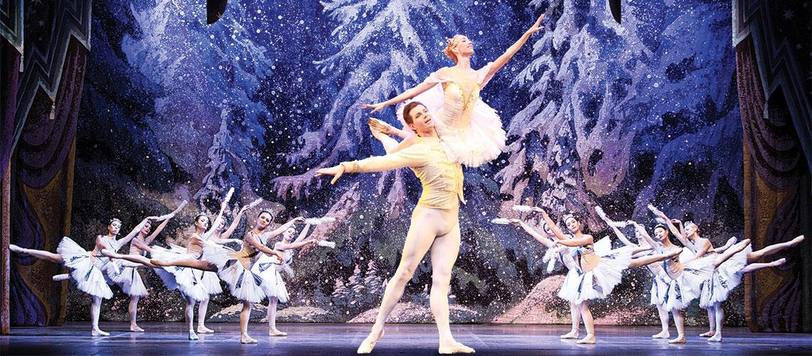 Presentación de El cascanueces del Moscow State Ballet