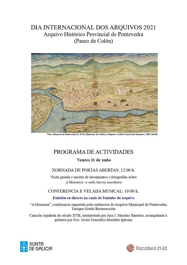 Programa de actividades do AHP de Pontevedra