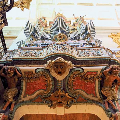 Espazo Sonoros 2019 - Catedral de Tui detalle órgano