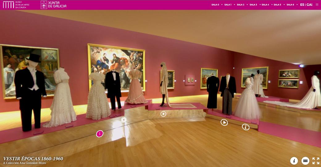 Visita virtual vestir épocas
