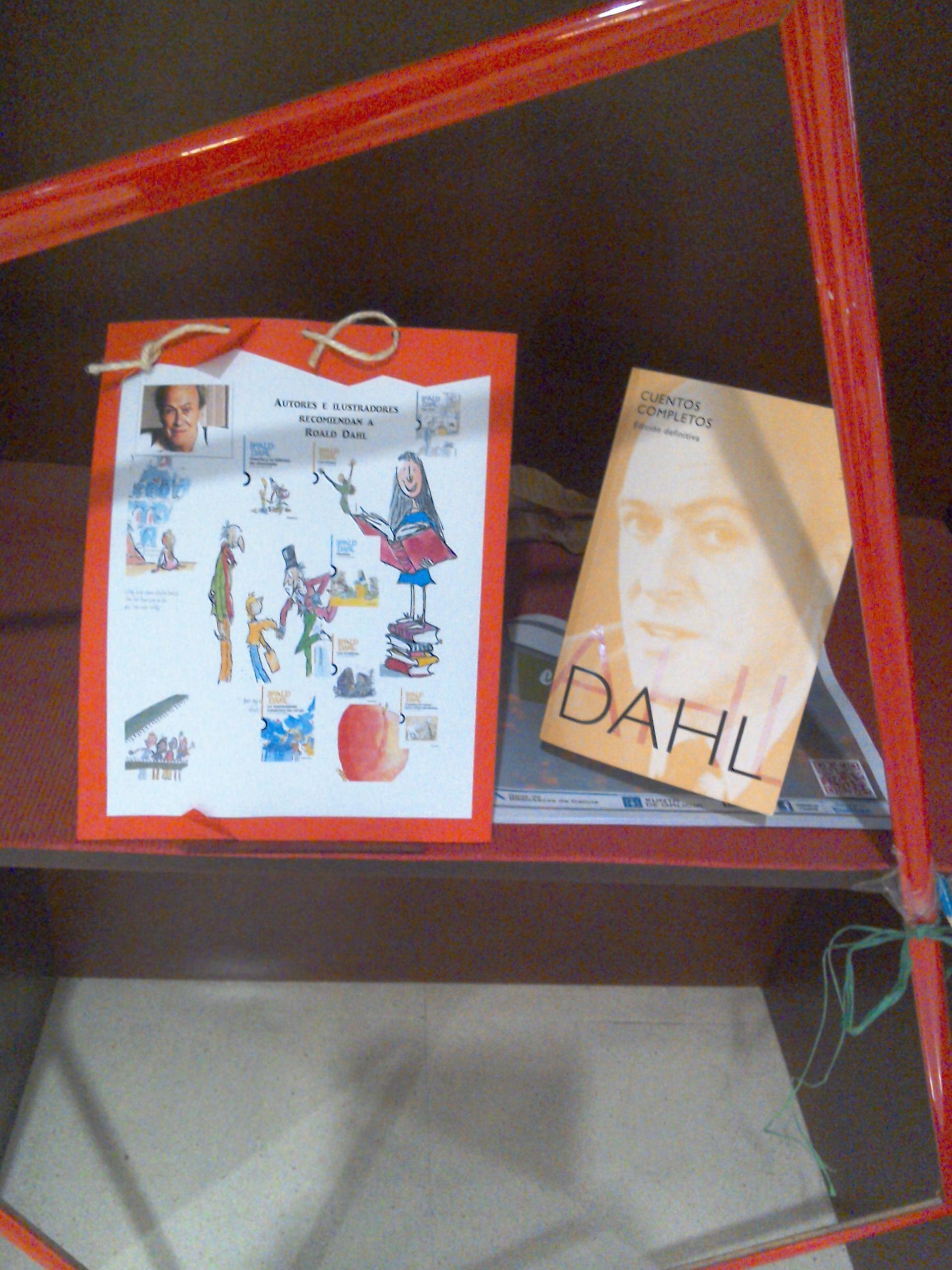 Exposición Roald Dahl