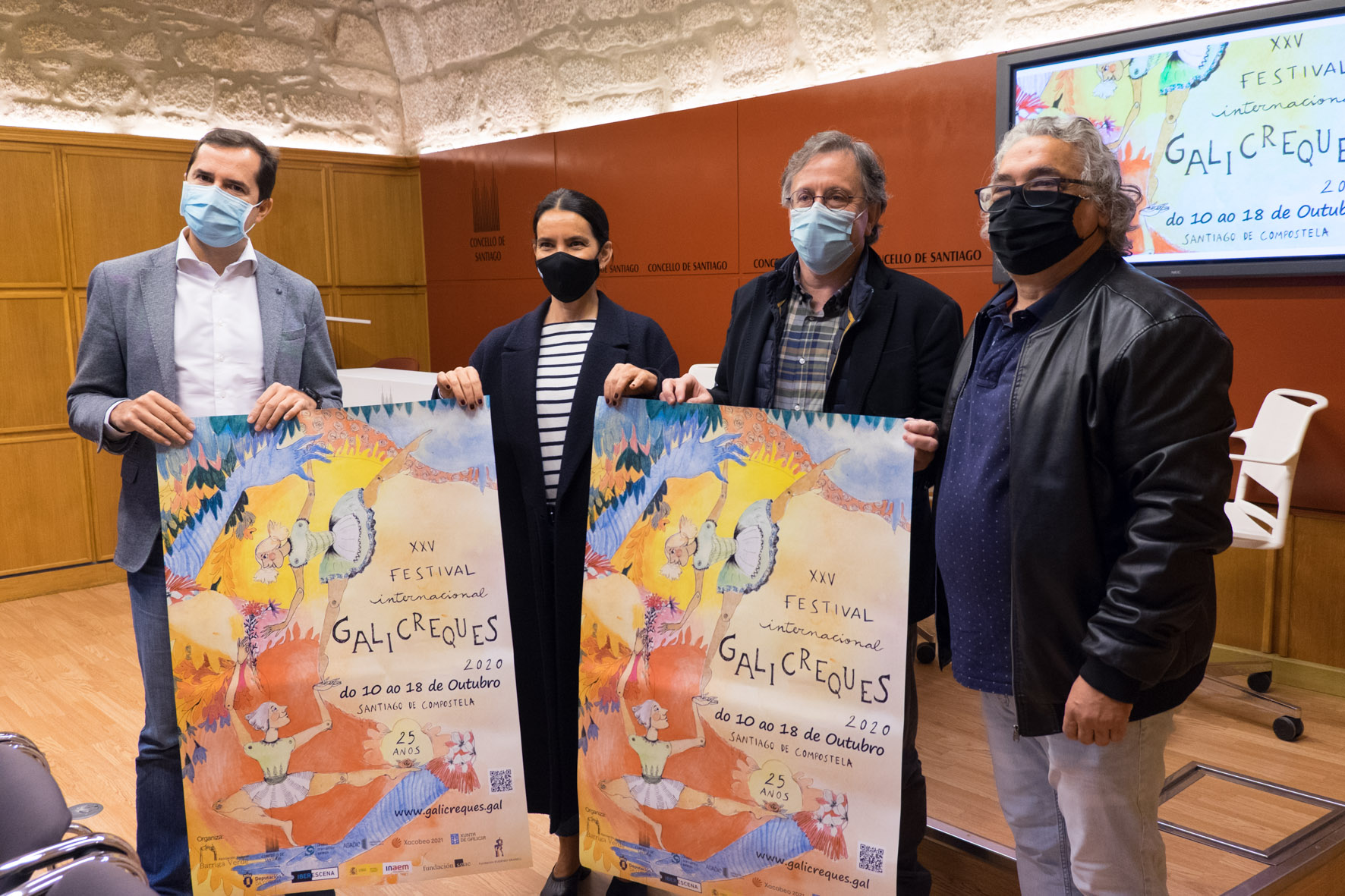 A Xunta promove o teatro de títeres co seu apoio á celebración do Festival Galicreques de Santiago de Compostela