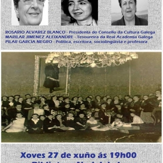 A contribución das mulleres a cultura galega