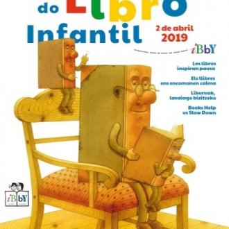 Cartel DÍA DO LIBRO INFANTIL E XUVENIL 2019_BP da Coruña MG Garcés