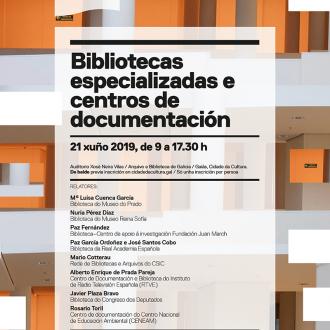 Bibliotecas especializadas e Centros de documentación