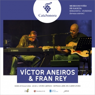 Víctor Aneiros e Fran Rey