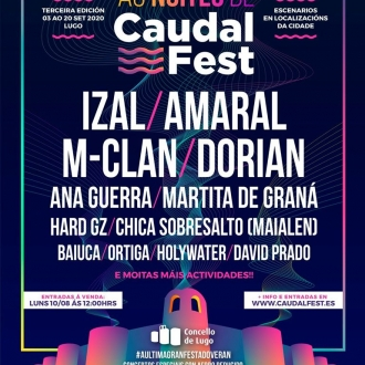 Festival As Noites do Caudal Fest 2020