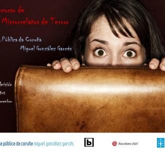 II Concurso de Microrrelatos de Terror_Biblioteca Pública da Coruña MG Garcés