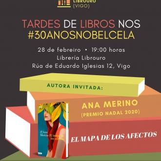 TARDES DE LIBROS III NOS #30ANOSNOBELCELA