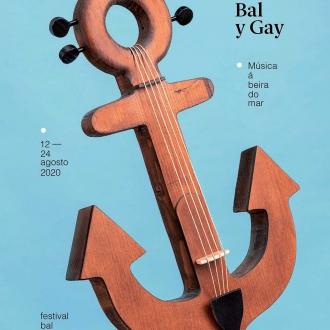 Cartel del Festival Bal y Gay 2020 en A Mariña
