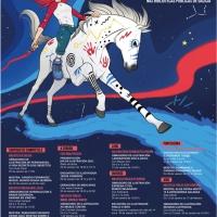 Programa de actividades Día da Ilustración 2020. Autora Xulia Pisón
