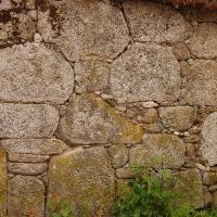 Construcción con la técnica de piedra seca