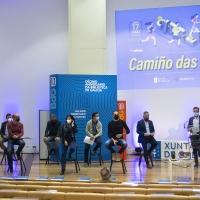 Valentín García e Anxo M. Lorenzo, na presentación da iniciativa