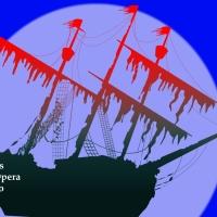 Cartel da ópera O holandés errante | Web do Teatro Afundación