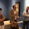 Anxo Lorenzo inauguración exposición
