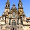 Fachada da Catedral de Santiago de Compostela