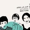 Cartel do Festival Internacional Kerouac Nova York