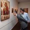 O conselleiro de Cultura, Educación e Ordenación Universitaria, Xesús Vázquez Abad, participou na inauguración da mostra Iconas Rusas