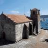Igrexa parroquial de Santa María de Atalaia en Laxe | Imaxe: Turismo.gal