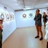 Anxo M. Lorenzo inaugura a exposición fotográfica 'O Camiño Francés en 360º' do hospitaleiro Goyo González