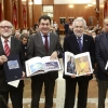 Román Rodríguez destaca o extraordinario talento plástico galego na presentación do libro de arte do Parlamento