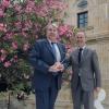O conselleiro de Cultura, Educación e Ordenación Universitaria, Xesús Vázquez Abad, participou hoxe no acto de entrega dos galardóns da cata oficial da D.O Ribeiro