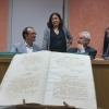 O secretario xeral de Cultura destacou o valor patrimonial e o enorme interese dos manuscritos para a investigación sobre a historia de Galicia