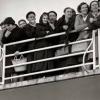 A exposición reúne 51 imaxes tomadas polo fotoxornalista coruñés Alberto Martí nas que se reflicte o éxodo galego cara a América