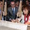 O conselleiro de Cultura, Educación e Ordenación Universitaria, Xesús Vázquez Abad, acompañado polo secretario xeral de Cultura, Anxo Lorenzo, inaugurou hoxe o Museo do Traxe Folclórico