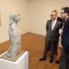 O conselleiro de Cultura inaugura dúas propostas expositivas do Centro Galego de Arte Contemporánea