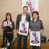 Jacobo Sutil na presentación da mostra de Teatro cómico-festivo de Cangas