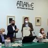 Román Rodríguez destaca o compromiso da Xunta cos creadores e artistas na entrega do XI Premio de Gravado Atlante
