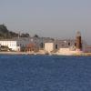 O Museo do Mar de Vigo visto desde o mar