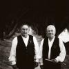 Os vellos requinteiros Pepe de Nande e Marcelino de Muiñeiro