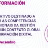 Plan de Formación 2020: A transformación dixital na Xestión Cultural