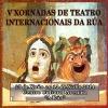Cartel das V Xornadas de Teatro da Rúa