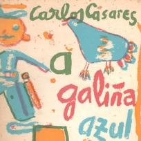 Portada de A galiña azul, de Carlos Casares