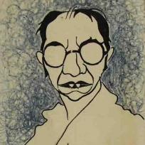 Caricatura de Díaz Baliño