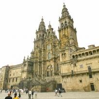 Casco histórico de Santiago de Compostela   Imagen:Turismo de Galicia