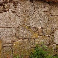 Construción coa técnica de pedra seca
