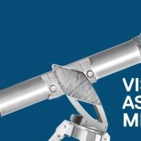 Cartel das Visitas astronómicas 2014