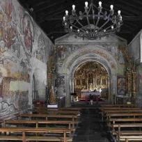 Igrexa de Santa María de Nogueiras. Fragmento dunha imaxe de Mani Moretón